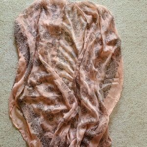Other - Light Pink Scarf/Coverup